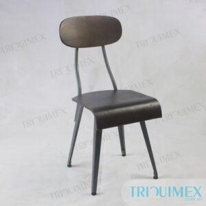 GH181- Ghế cafe chân sắt phong cách hoài cổ